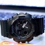 Casio Black G Shock GA 100-1A1 Military Watch Review