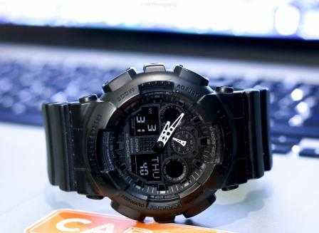 dda0b708048 Casio Black G Shock GA 100-1A1 Military Watch Review