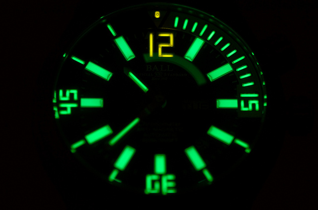 tritium lume is not so bright