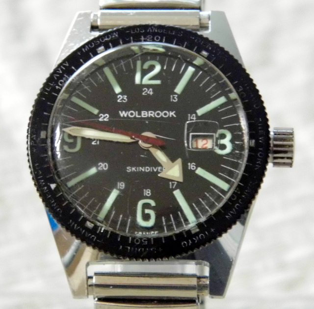 vintage diver's watch