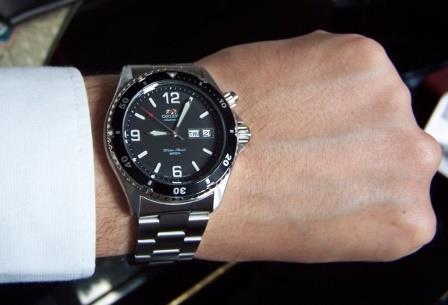 Orient black mako review
