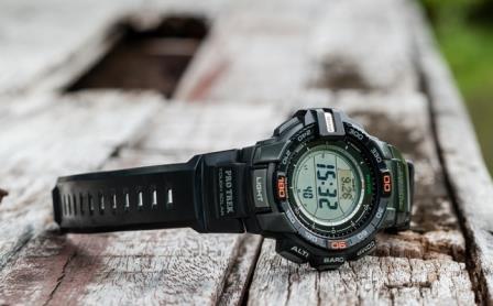 casio protrek hiking watch