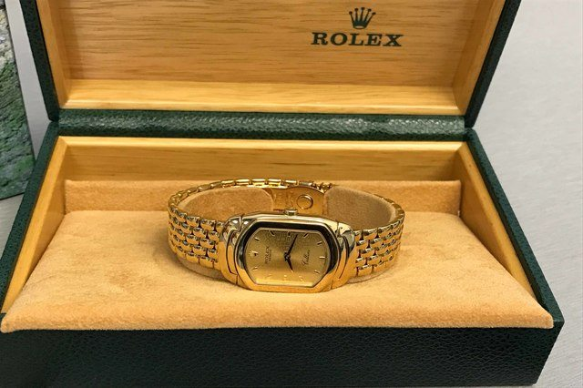 vintage Rolex watch may increase in price overtime